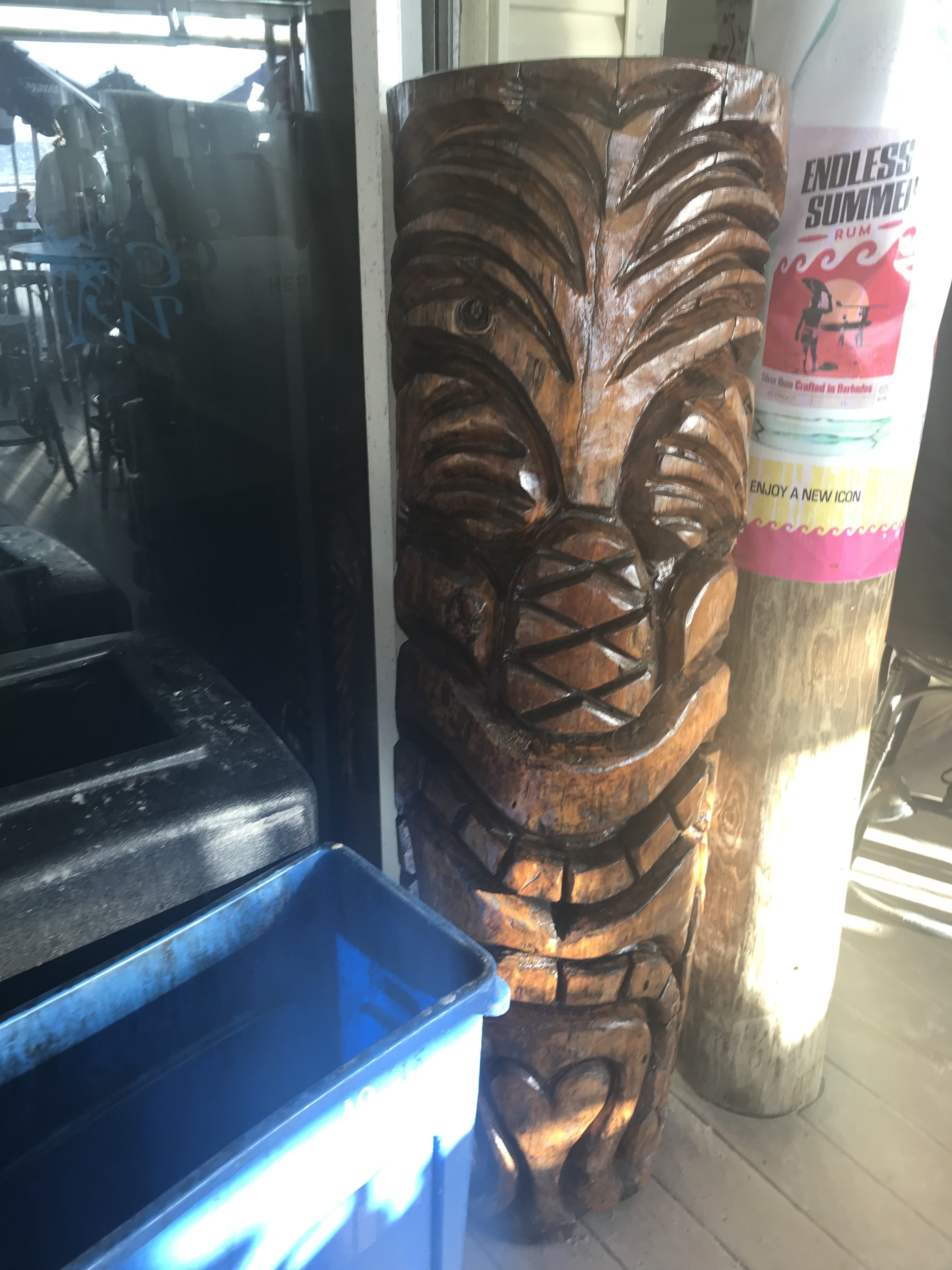 tiki from caddys