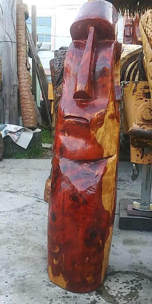 Cedar moai
